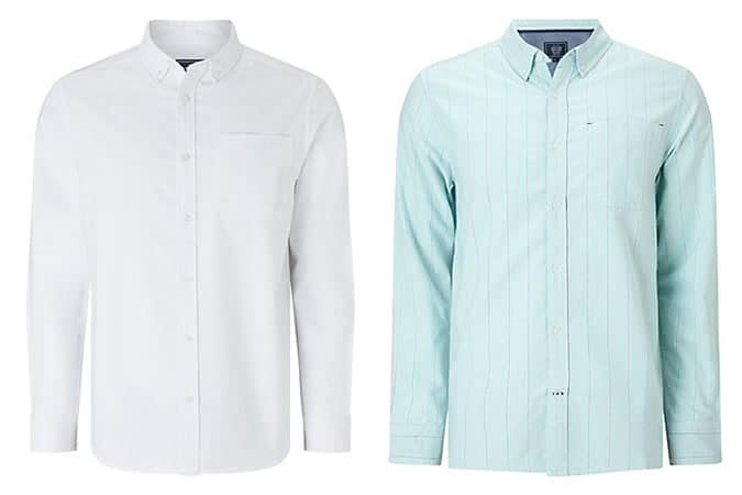 Men's Basic Oxford Button-Down Shirts J.Crew