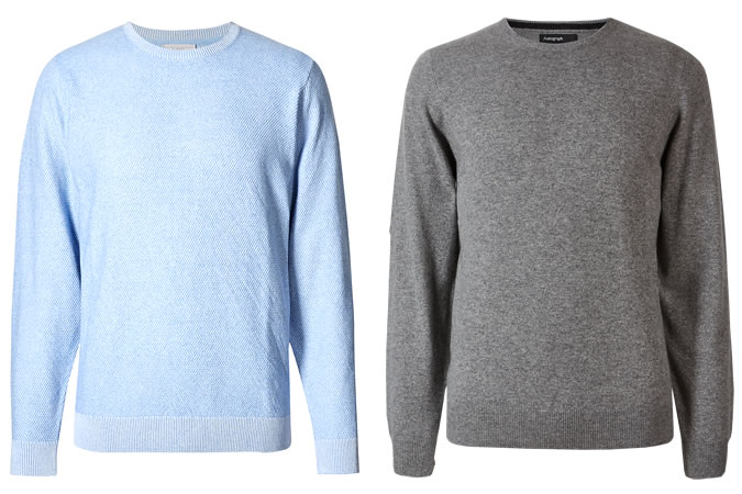 M&S Men's Knitwear