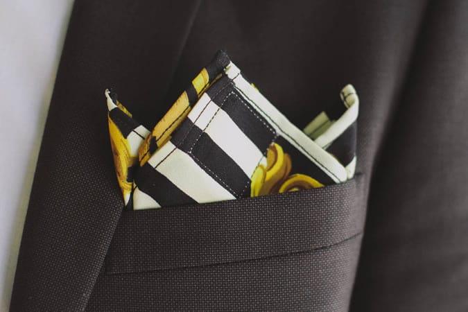 The Three Point Pocket Square Fold