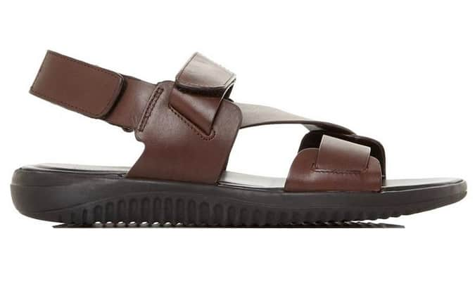 Leather Chunky Sandal
