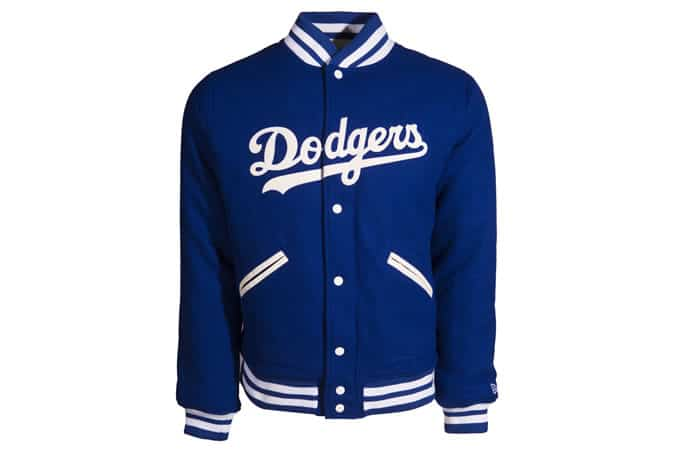 Brooklyn Dodgers Heritage Varsity Jacket