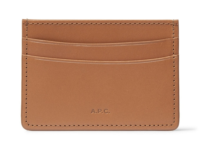 A.P.C. Andre Leather Cardholder