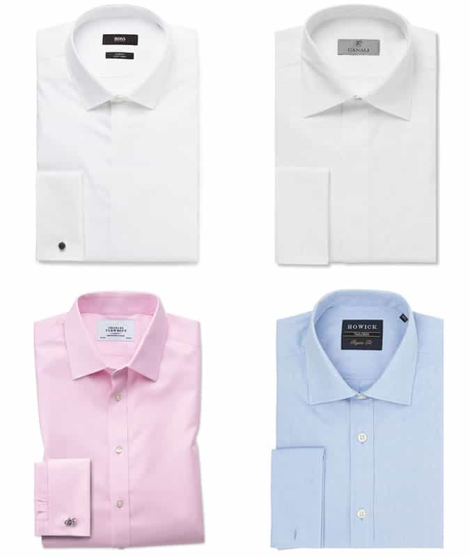 The best men's double cuff shirts