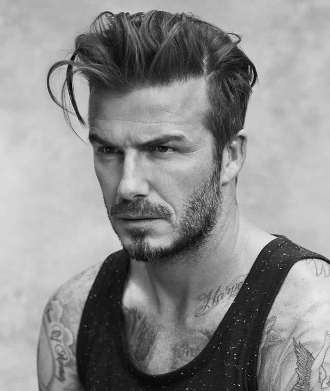 David Beckhams Best Hairstyles And How To Get The Look Fashionbeans
