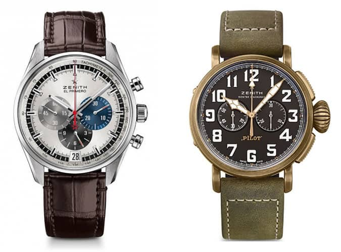 the best Zenith watches for men
