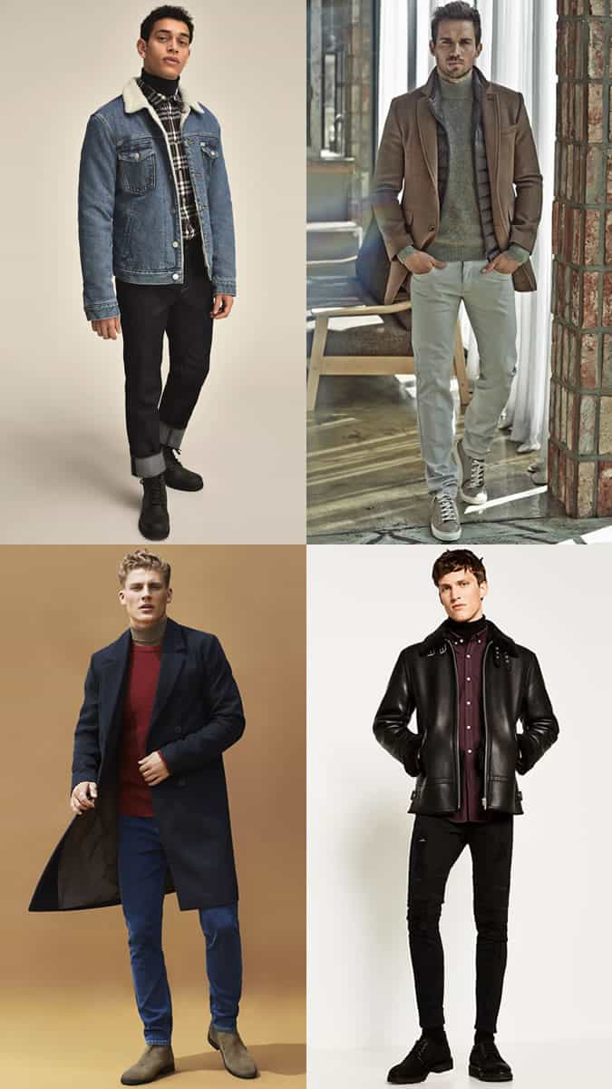 The best ways to layer a roll neck
