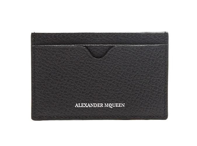 Alexander McQueen Leather Cardholder
