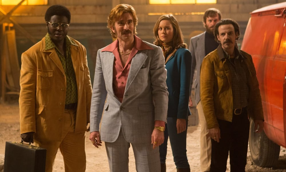 Babou Ceesay, Sharlto Copley, Brie Larson And Noah Taylor In Free Fire