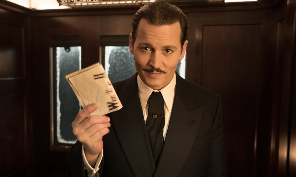 Johnny Depp In Murder on the Orient Express