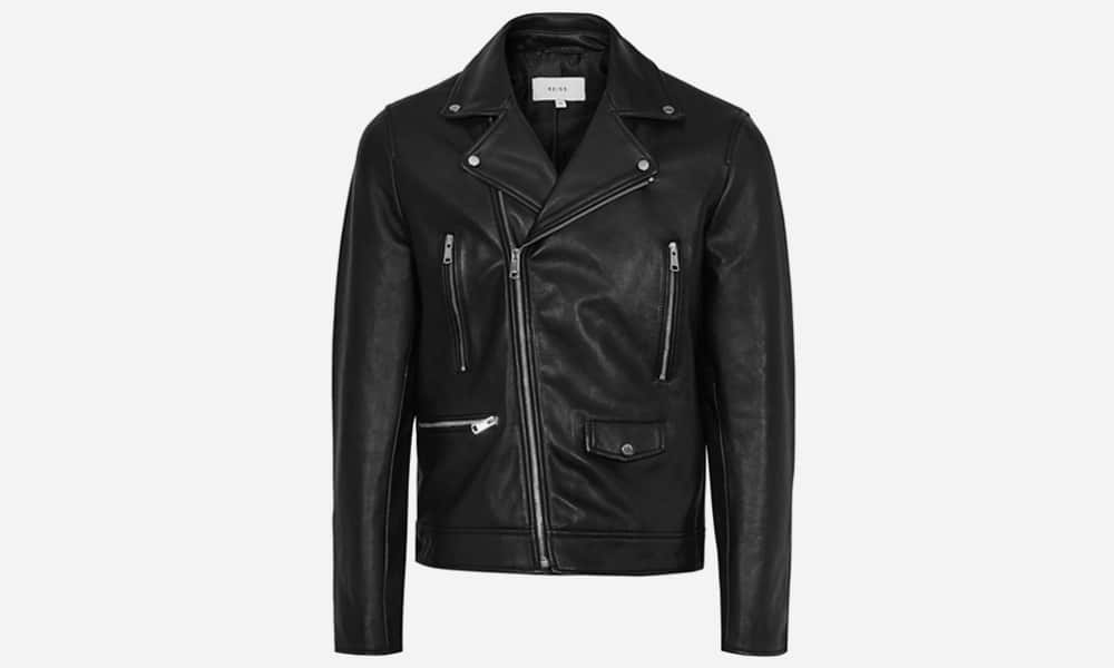 Bones Leather Biker Jacket
