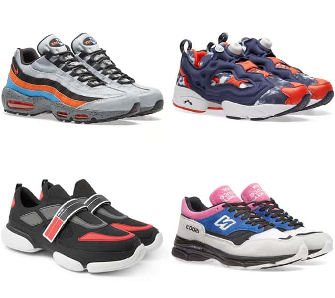 The Ugly Trainers Trend For Men