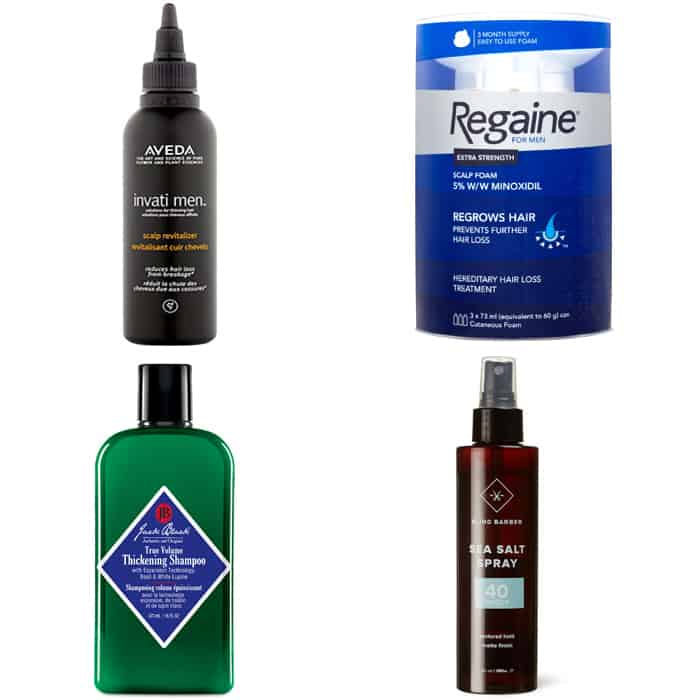 The Best Styling Products For Thinning Hair