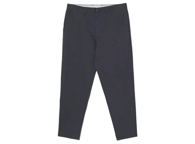WIDE FIT CHINO TROUSERS