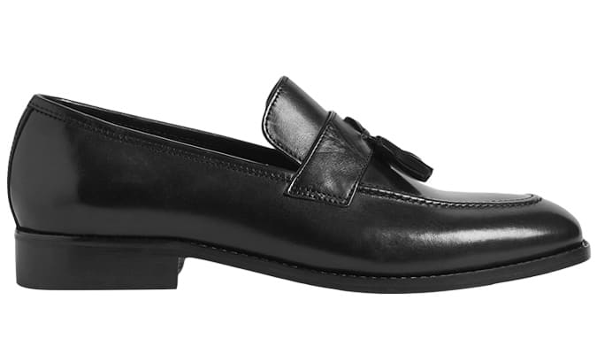 M&S Leather Slip On Loafers