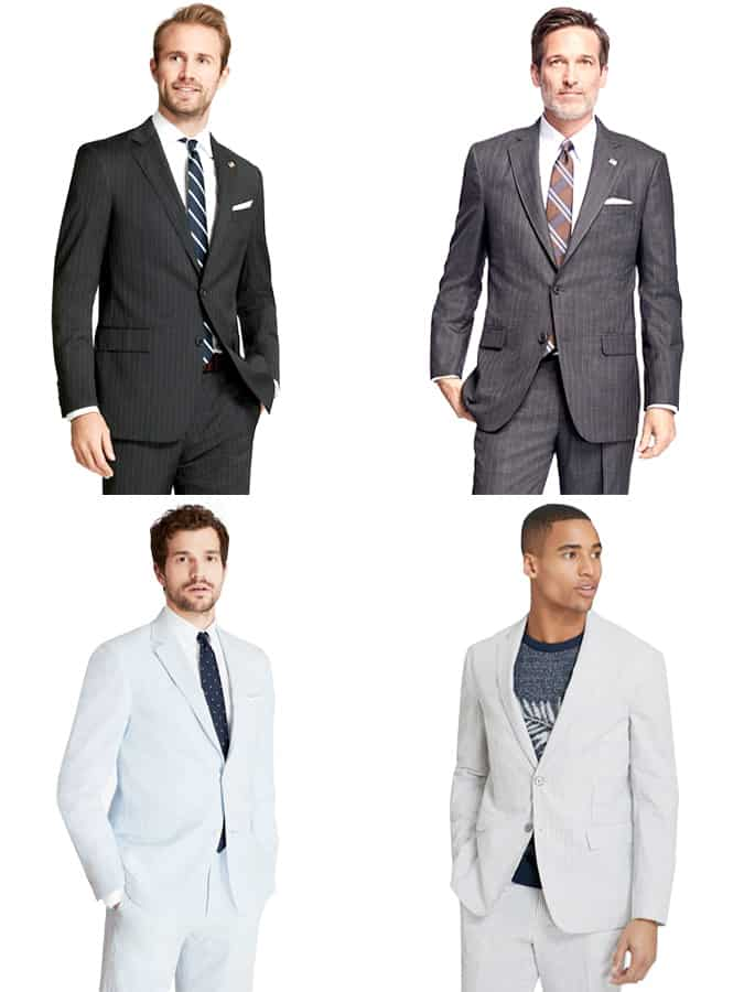 Brooks Brothers Pinstripe Suits for men
