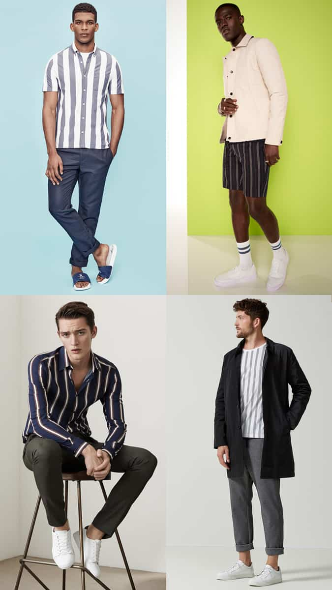 How To Wear Vertical Stripes