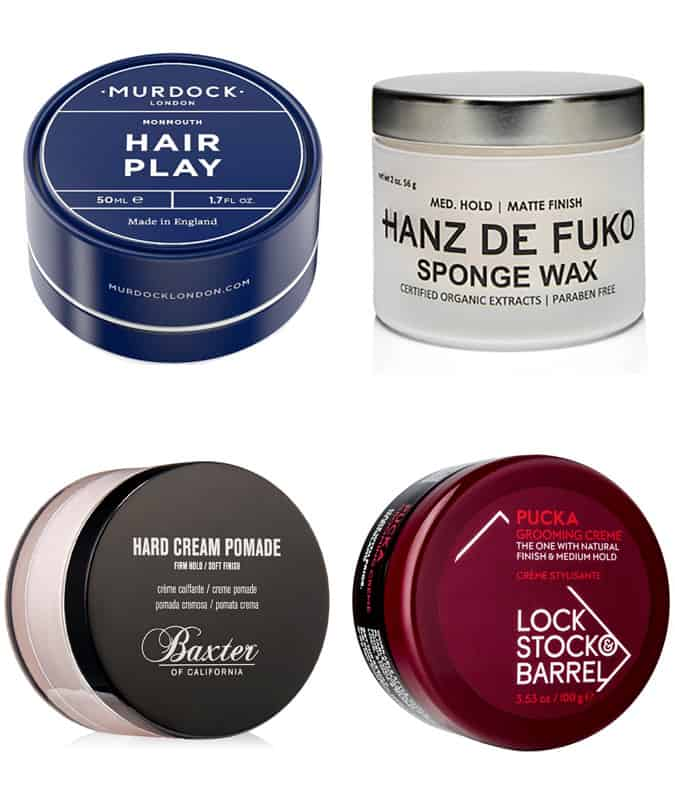 Men's Short Hair Products