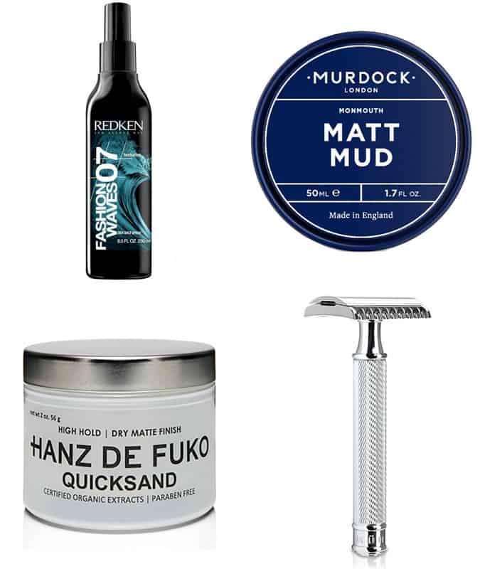 Men's Textured Mid/Long Length Hair Products