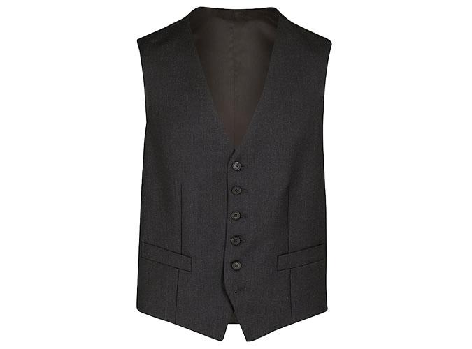 GIEVES & HAWKES Single-breasted wool waistcoat