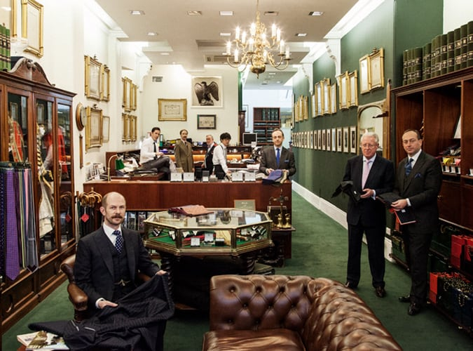 Henry Poole & Co Savile Row