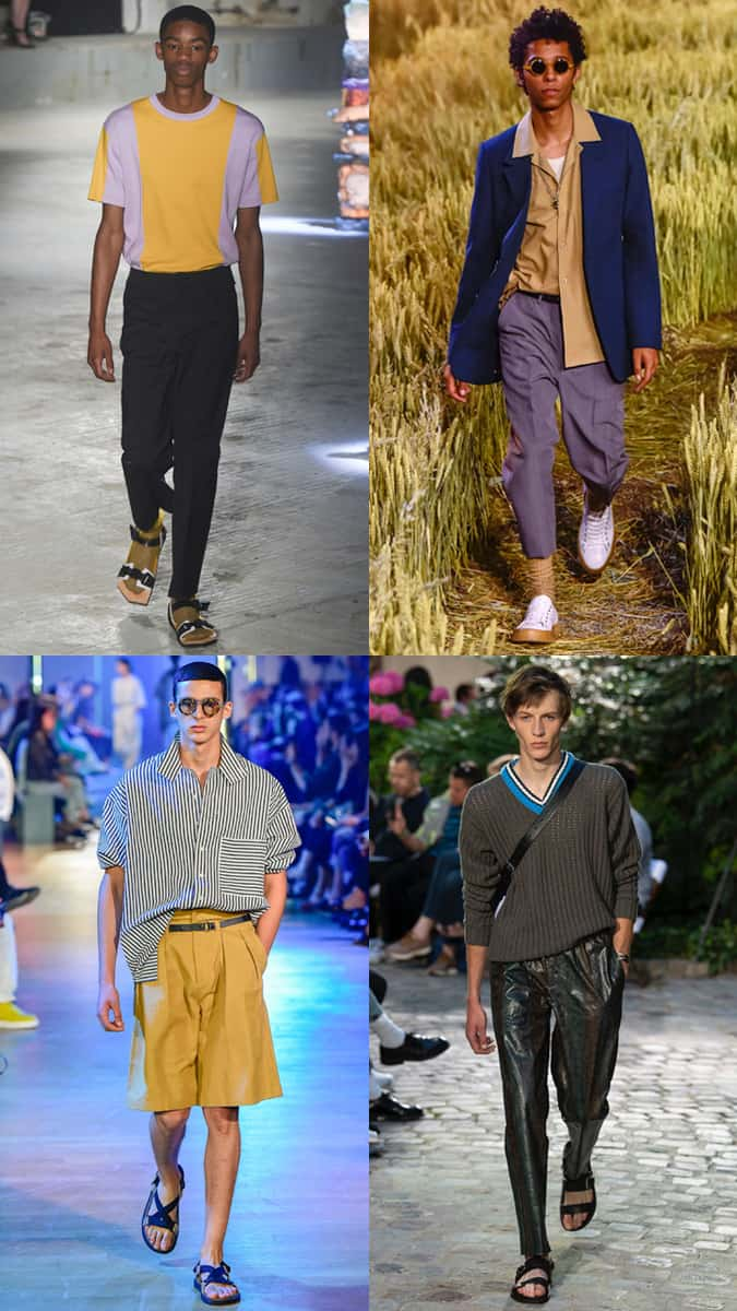 The Tucking Trend At Men's Fashion Week SS19
