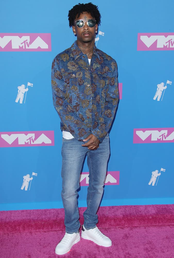 21 Savage, MTV Video Music Awards, New York