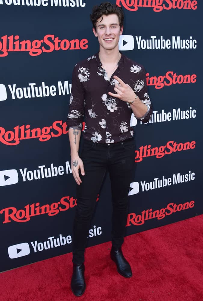 Shawn Mendes Rolling Stone Relaunch, New York