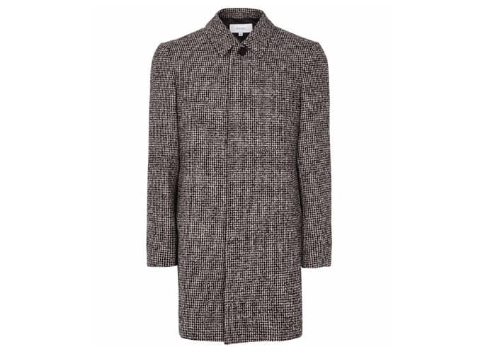 Reiss Douglas Dogtooth Overcoat