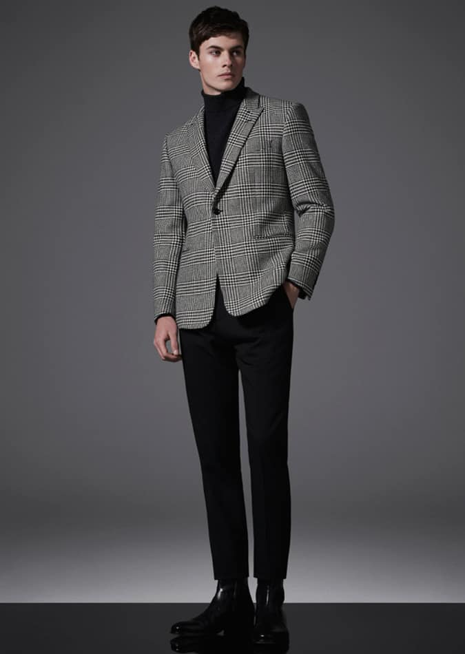 29f219cb694 How To Wear A Check Blazer Like A Don