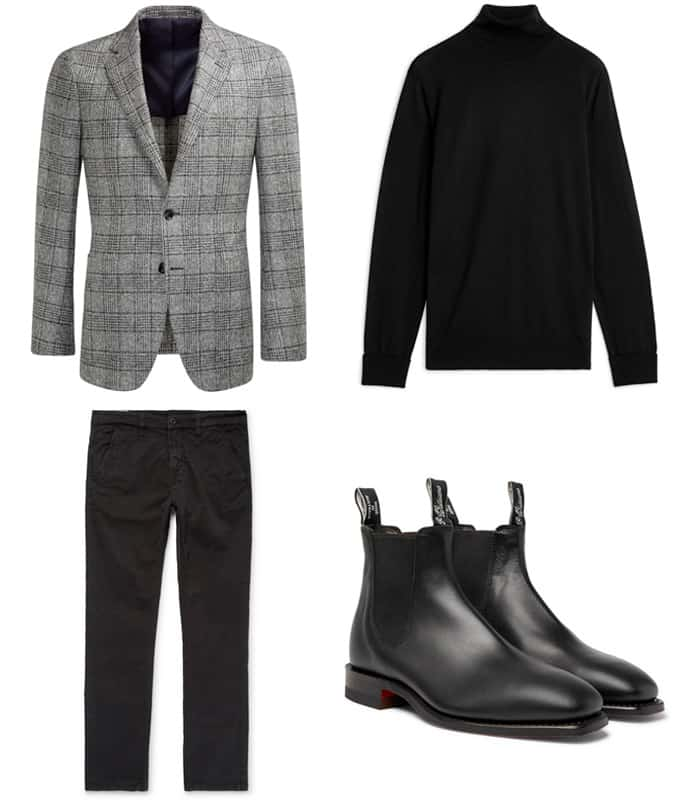 How To Wear A Prince Of Wales Check Blazer