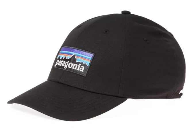PATAGONIA P-6 LOGO STRETCH FIT CAP