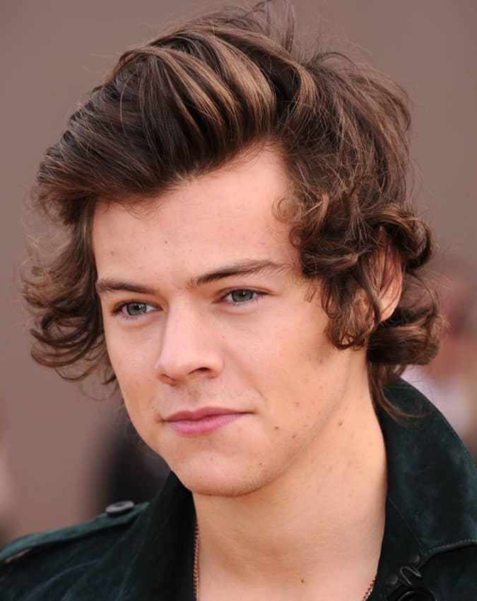 harry styles with hair harry styles best hairstyles and how to get the look 1681