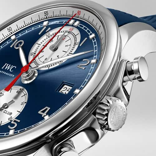 IWC Portugieser Watch Design Features - tachymeter