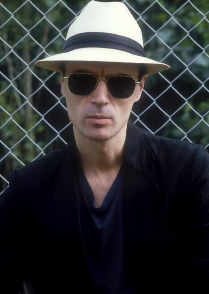 David Byrne of Talking Heads, 1982