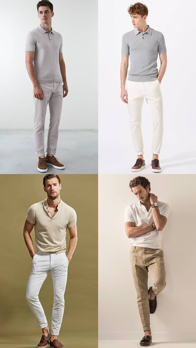How To Wear Tonal Polo Shirts