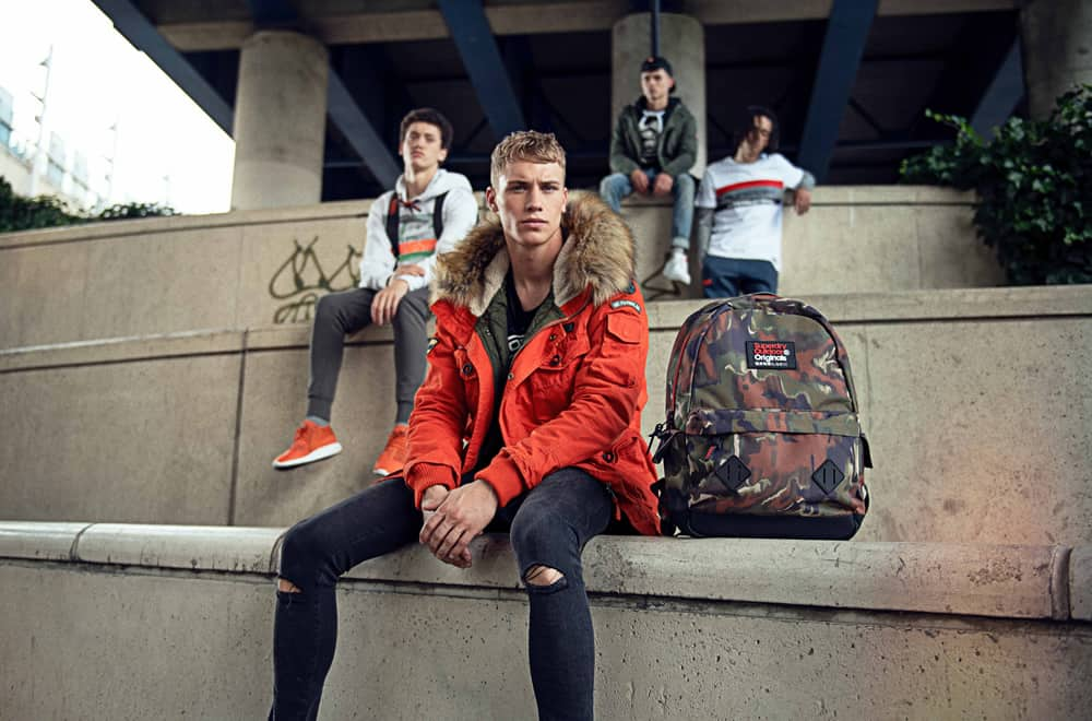 Superdry Back To University Collection
