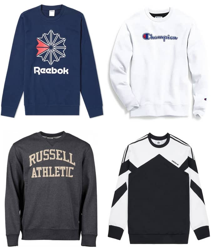 The Best Retro Sweatshirts For Men
