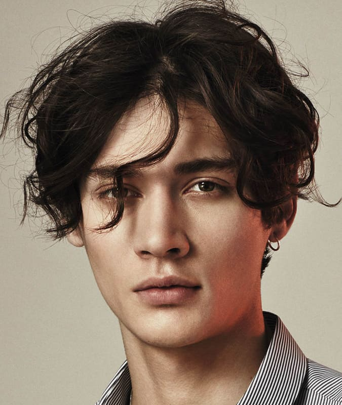 The Best Men S Wavy Hairstyles For 2018 Fashionbeans