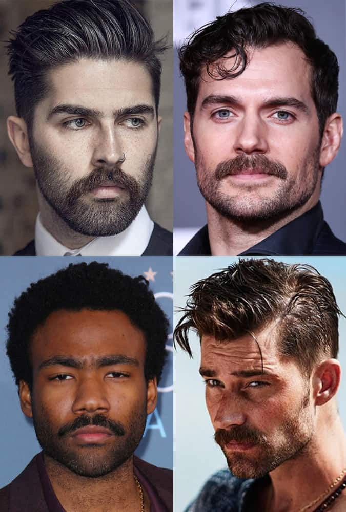 Men with moustaches