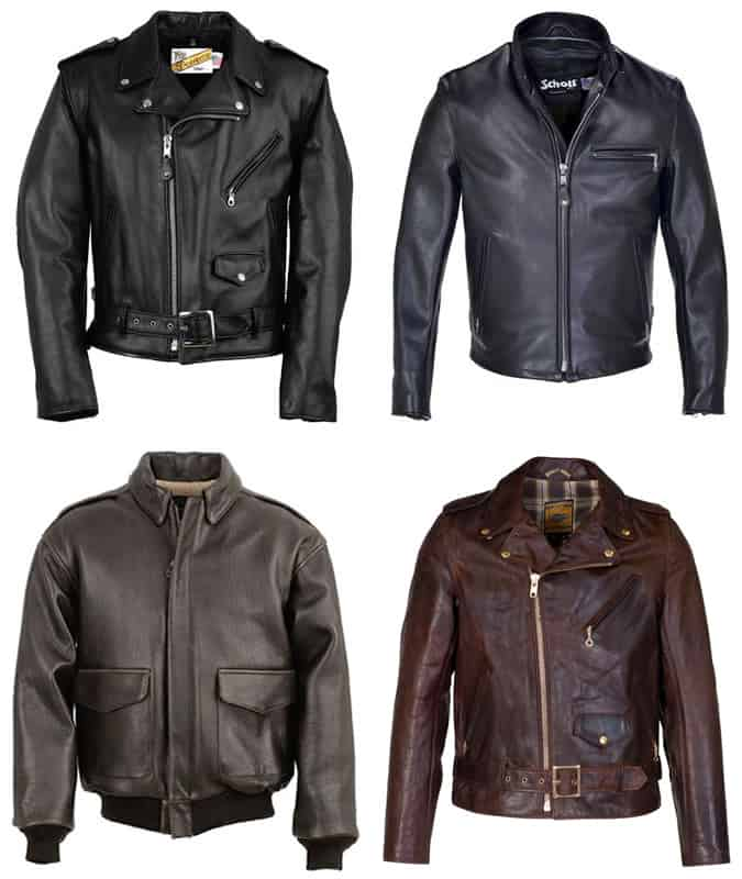 the best schott leather jackets