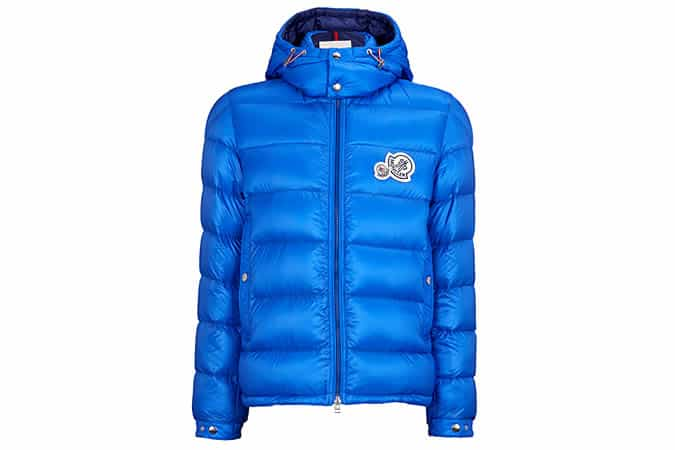 MONCLER Down-filled hooded shell jacket