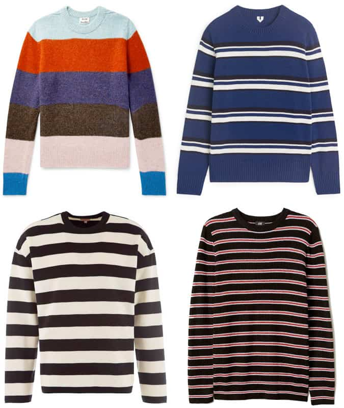 The best striped jumpers for men