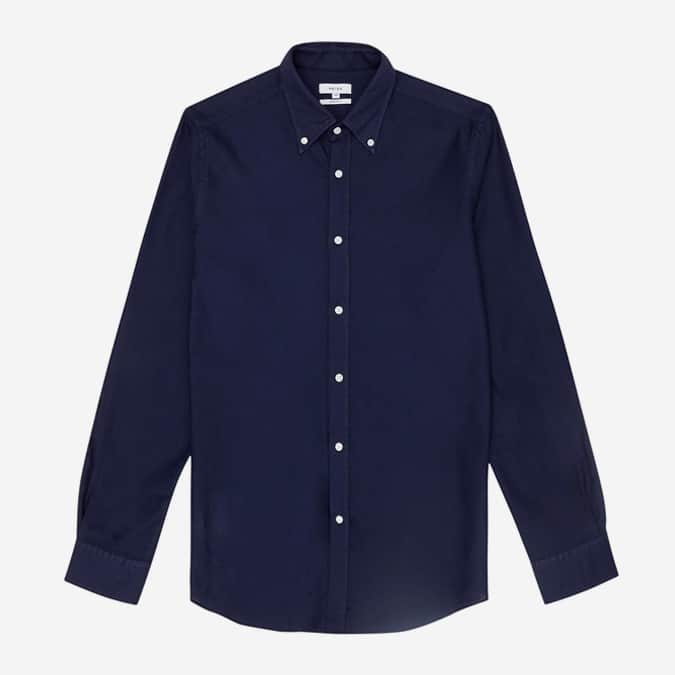 Halliday Textured Button Down Shirt