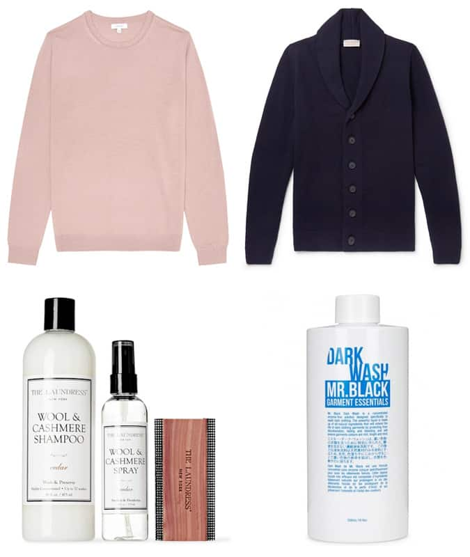Mens's Knitwear And Products To Looks After It