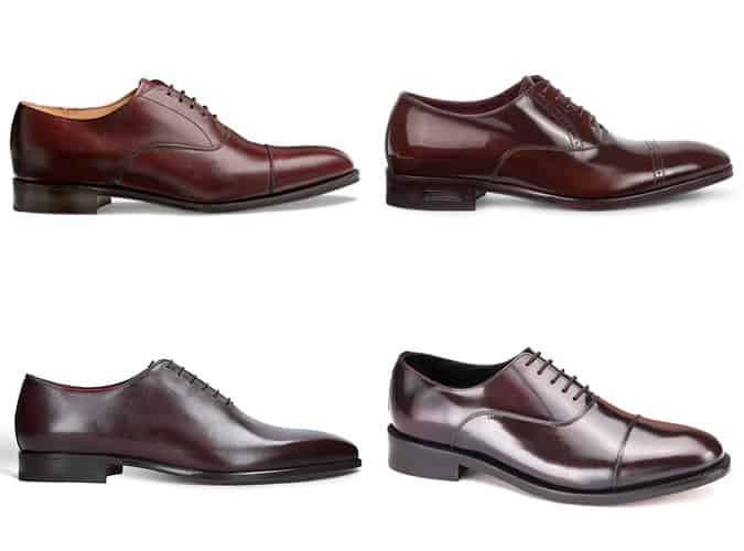 The best oxblood oxford shoes for men