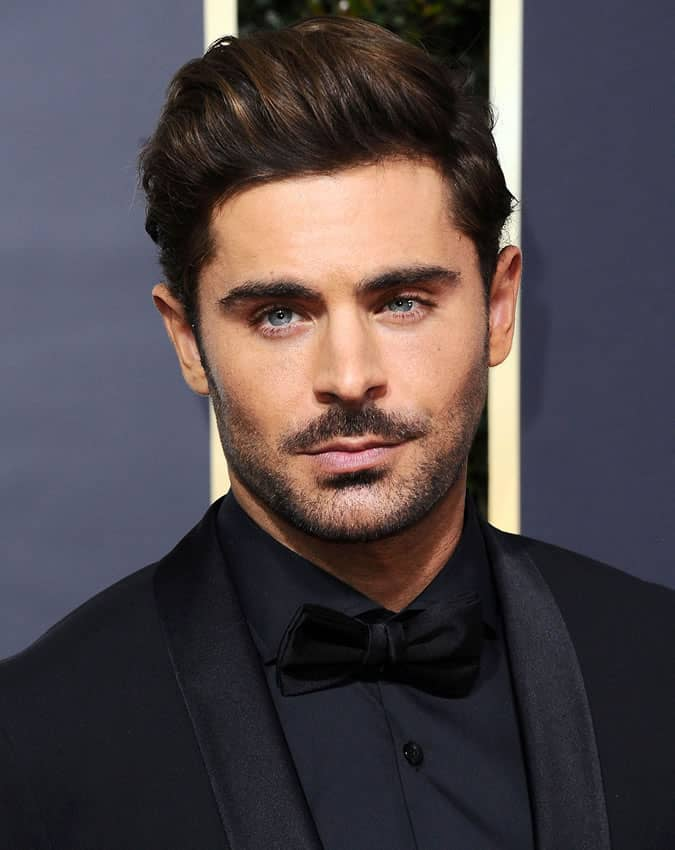 Zac Efron With Moustache