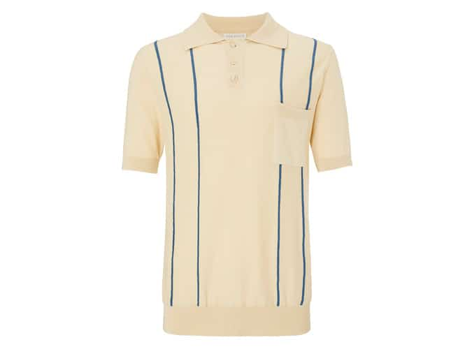 Far Afield Knitted Polo Shirt