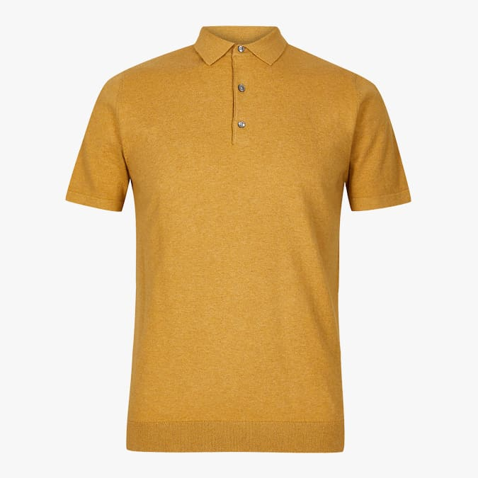 Cotton Rich Knitted Polo