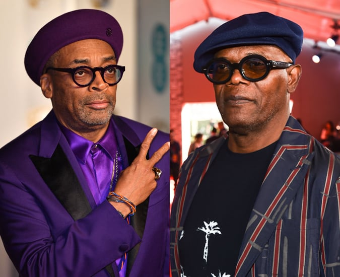 Spike Lee and Samuel L Jackson