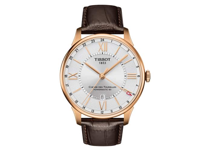 Tissot Chemin Des Tourelles Powermatic 80 GMT Watch
